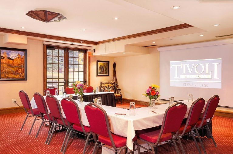 Tivoli lodge conference room for corporate retreats