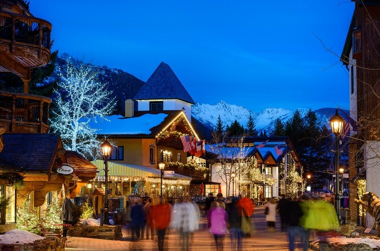 Vail Village in Winter